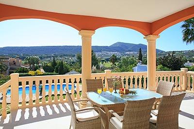 Villa de lujo con vistas al campo de golf de Jávea (Alicante)