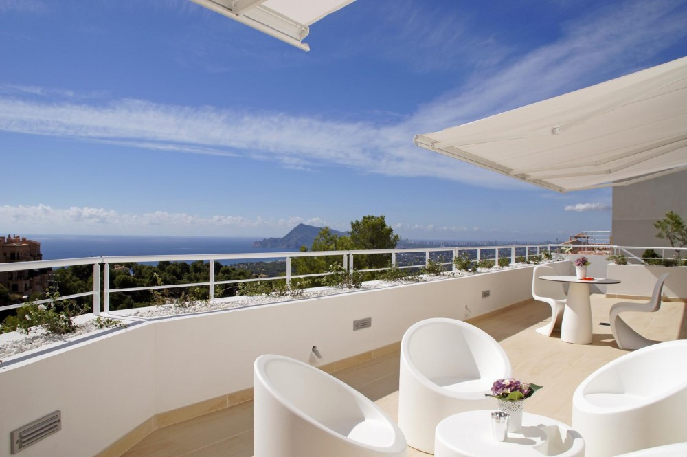 Nuevas villas de estilo moderno en Altea (Alicante)
