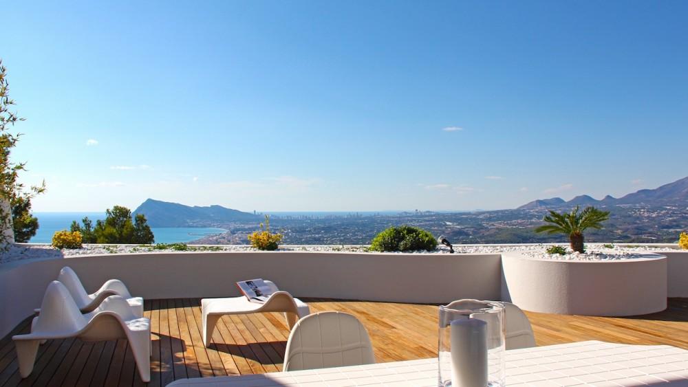 Новые апартаменты класса люкс в Альтеа (Аликанте)