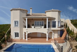 New Villa in Cumbre del Sol (Alicante)