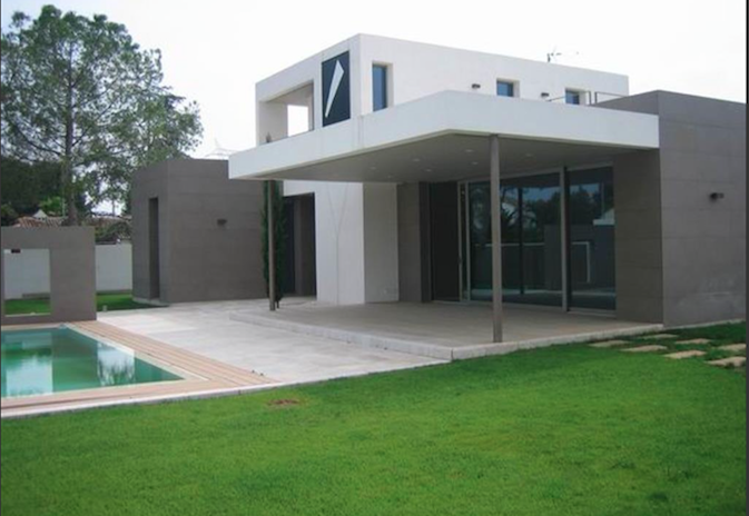 Excelente vivienda minimalista de diseño a estrenar en L´Eliana.