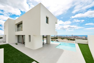 Exclusive Villa in modern style in Benidorm.
